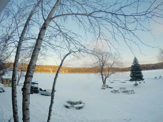 Minden, Canada: View from our lake front cottage 2