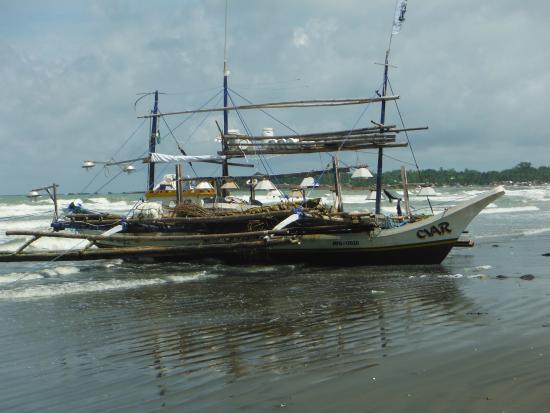 Wyspy Visayan, Filipiny: Tuna fishing boat San Angel Antique Philippines.
