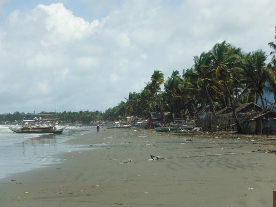 Νησιά Visayan, Φιλιππίνες: Beach view San Angel Antique Philippines.