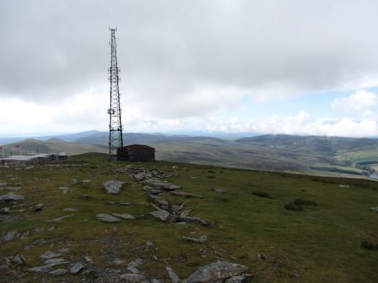 Laxey, UK: Snaefell Mountain summit tower