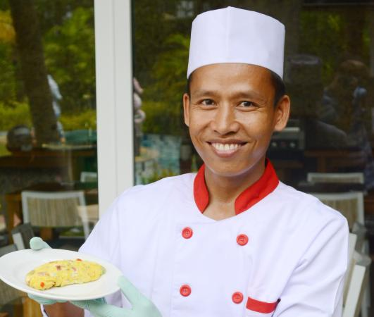 Cilegon, Indonesia: The Chef