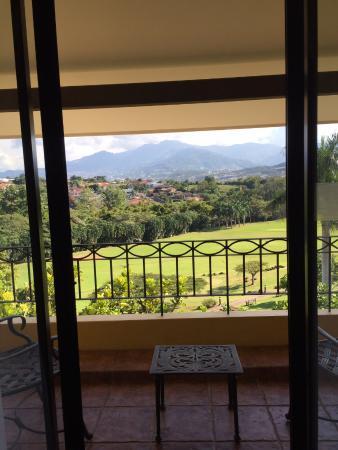 San Antonio De Belen, Costa Rica: View from room with balcony