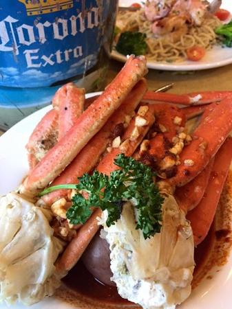 Elk Grove, Californië: Crab legs
