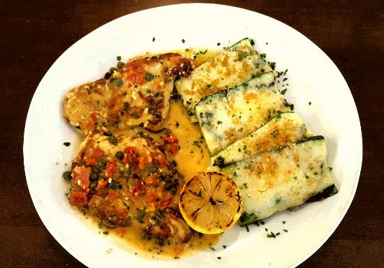 Chicken Piccata With Zucchini Picture Of Olive Garden Fort Lauderdale Tripadvisor