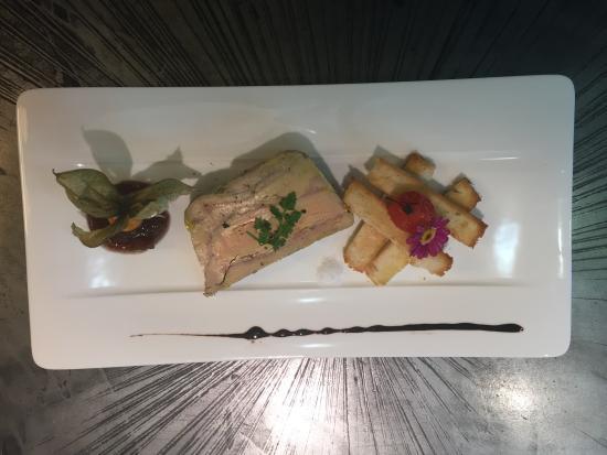 Holiday Inn Cannes : Foie gras de canard