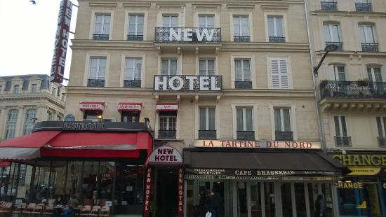 view of new hotel gare du nord picture of new hotel gare du nord paris tripadvisor. Black Bedroom Furniture Sets. Home Design Ideas