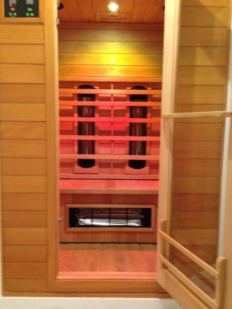 Grimbergen, Belçika: infrarode sauna