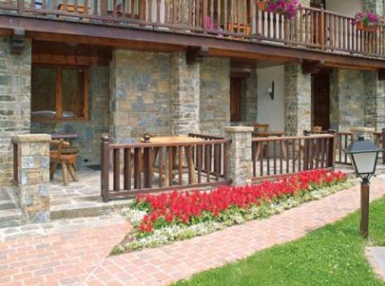 Hotel La Coma: Vista terrazas