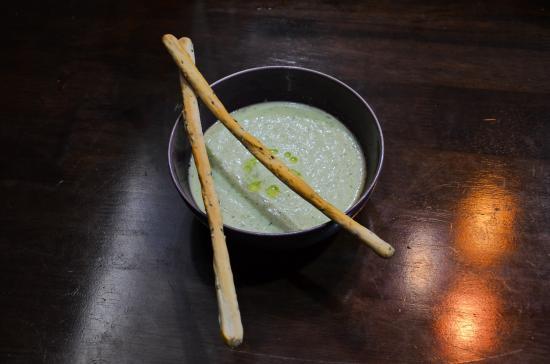 Bophut, Tajlandia: Coco/cucumber soup - InFusion Cooking Classes Samui