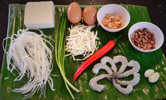 Bophut, Tajlandia: Ingredients Pad Thai - InFusion Cooking Classes Samui