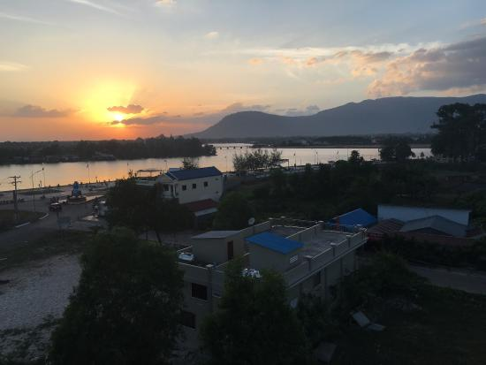 Mad Monkey Rooftop Sunset Bar Kampot