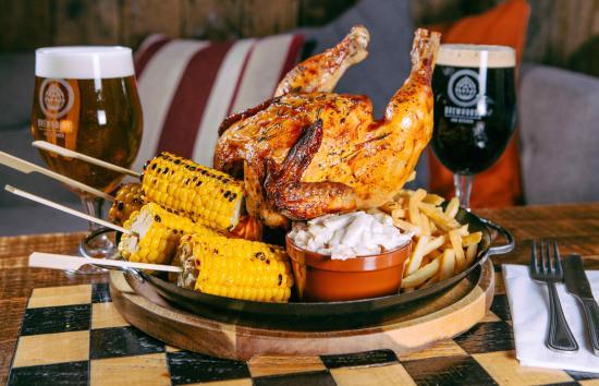 brewhouse kitchen bristol beer can chicken - Kitchen Chicken