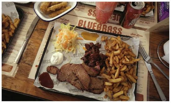 High Wycombe, UK: Bluegrass BBQ Smokehouse