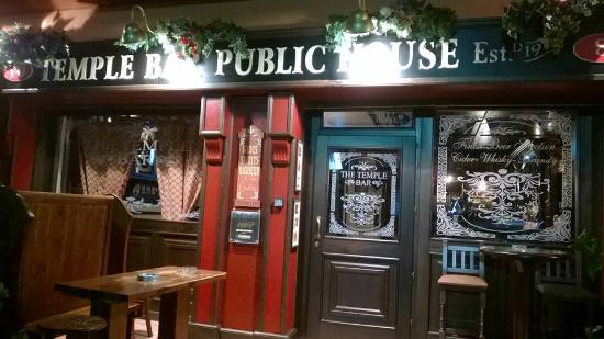 The Temple Bar Irish Pub