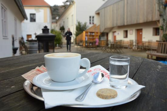 Klentnice, สาธารณรัฐเช็ก: Come to taste this delicious coffee :)