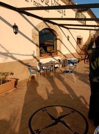 Vila-rodona, Spanyol: En la entrada del pueblo.