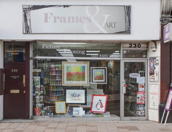 Independent Art shop with free workshops on sundays - Picture of ...