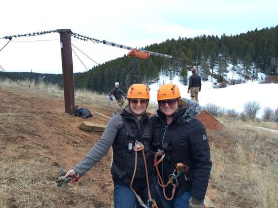 Golden, CO: Zipling Denver adventures!