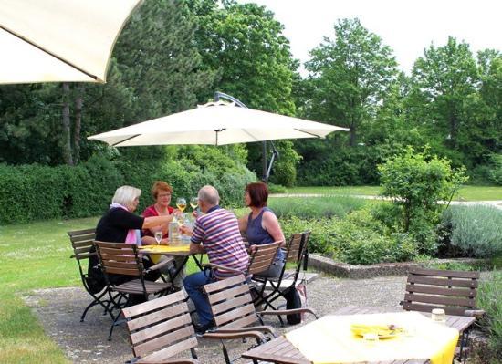 Terrasse Picture of Hotel der Akademie Heinrich Pesch