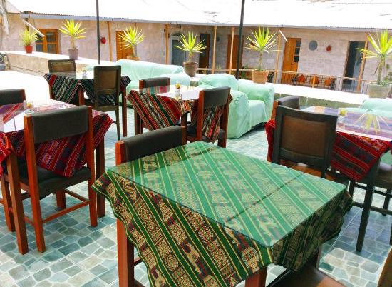 Hotel Riviera Arequipa: Terraza