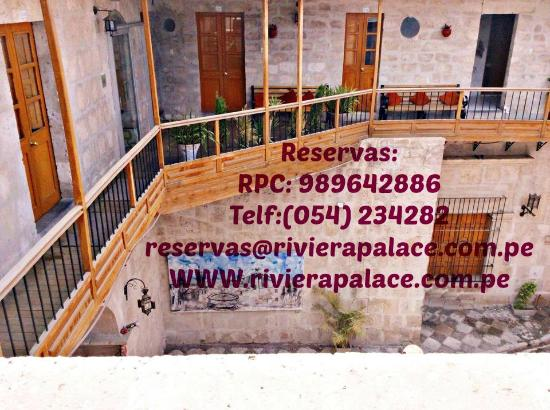 Hotel Riviera Arequipa: RESERVAS