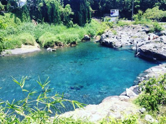 Saint-Benoit, Ilhas Reunião: Le Bassin Bleu