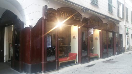 Chiavari, Italy: Teleria Rocca Caffe