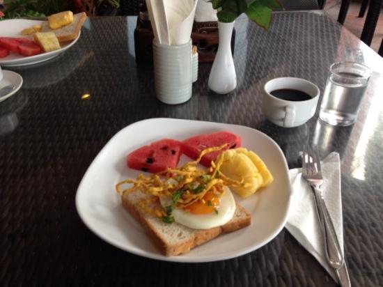 Chiang Mai Gate Hotel: Das Frühstück...