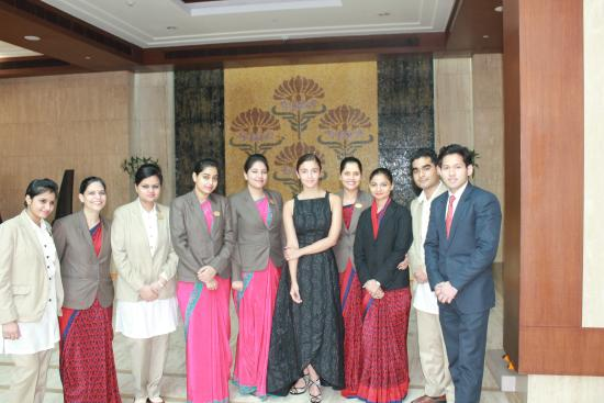 Greater Noida, India: Ms. Alia and The Lovely Team