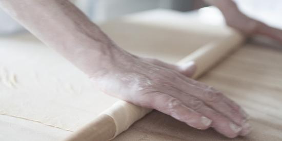 Poppi, Itália: Pasta fatta in casa