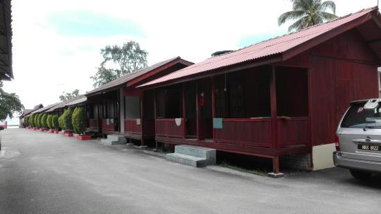 Masjid Tanah, Malasia: Chalet Seraya Pantai