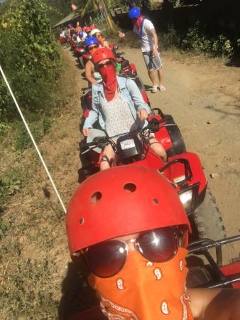 Playa Matapalo, Κόστα Ρίκα: Some more pics of our awesome excursions - ATVing, fauna and flora, La Fortuna waterfall, and Ar