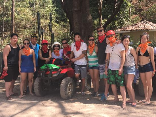 Life Time Tours of Costa Rica - Day Tours: Some more pics of our awesome excursions - ATVing, fauna and flora, La Fortuna waterfall, and Ar