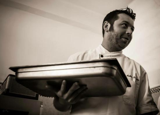 Paimpol, Frankrig: Chef Mathieu Le Tinier