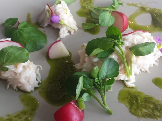 Appin, UK: Crab Salad