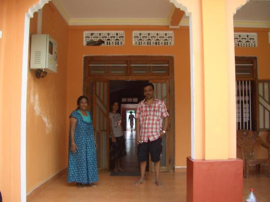 Point Pedro, Sri Lanka: The family