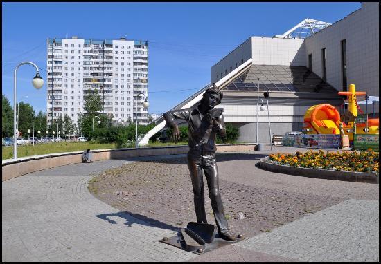 Sculpture Muzykant