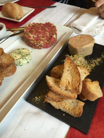 Valls, Espagne : Foie y Steak Tartar