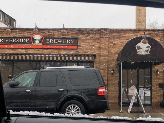 West Bend, WI: Riverside Brewery Exterior