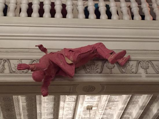Corrubbio di Negarine, Italia: scultura in chewing-gum close-up