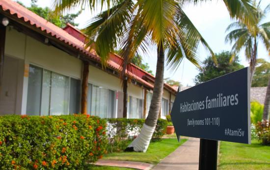 Tamanique, El Salvador: Atami rooms