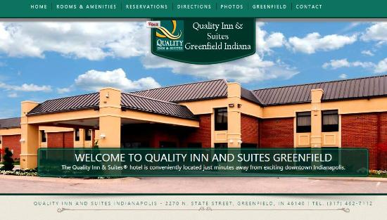 Welcome to Quality Inn Greenfield