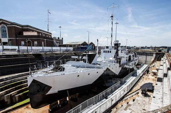 HMS M.33: M33 a rare survivor from WWI now open to visitors.