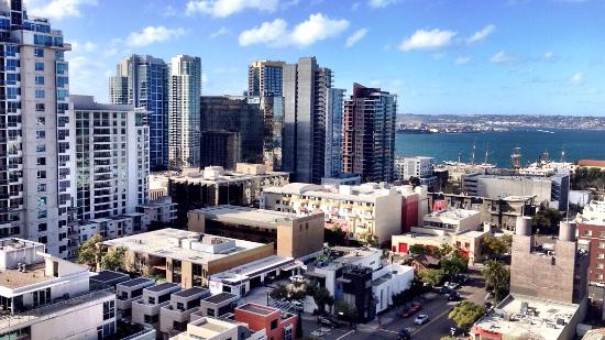 Doubletree Hotel San Diego Downtown: my view from the 16th floor, not too shabby