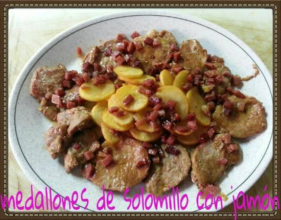 Belmez, Spain: MEDALLONES DE SOLOMILLO