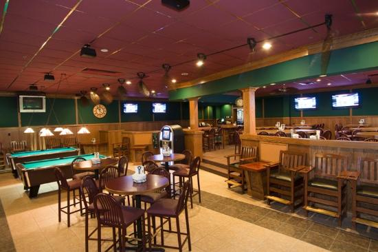 Sartell, MN: The Breakroom - Separate room with pool tables, darts and other games.  Can accommodate 100+ peo