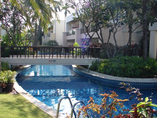 Fremragende hotel, blot for langt væk fra Hua Hin