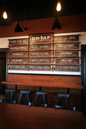 Essex, Kanada: Beer Board