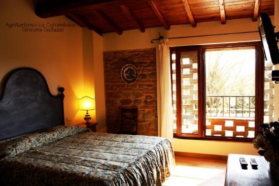 Vicchio, Italia: Camera del pavone