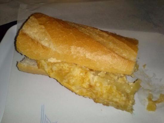 Bocata del canario